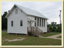 The School House Museum in Smithfield Virginia